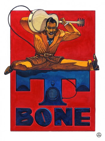 Lucho Blues Revue, T-Bone Walker